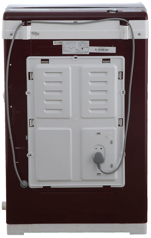 Videocon Vt55h12 Digi Gracia Fully Automatic Top Loading Washing Wiring Diagram Of Machine 55 Kg Dark Maroon Home Kitchen