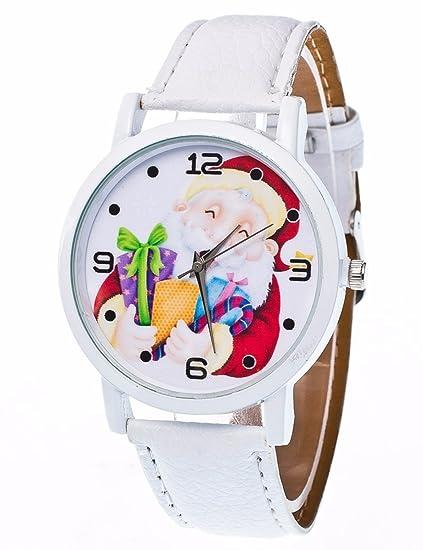 Para mujer reloj de cuarzo Cooki Remoción Navidad ancianos patrón analógico hembra relojes mujer relojes de