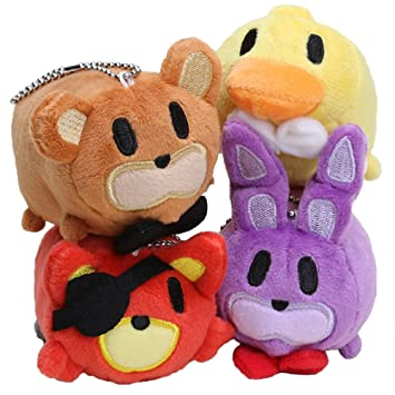 New Arrival Fnaf Foxy Fox Bear Bonnie Chica Tsum Tsum Plush Soft Toy Doll For Kids