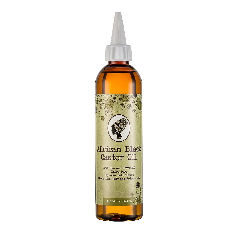 africano negro Castor aceite 8oz (236ml), thickens pelo que está empezando a realizar un, muy potente: Amazon.es: Salud y cuidado personal