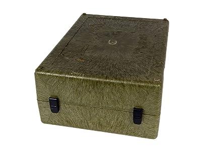 Correa de transporte I munición caja de plástico verde de segunda mano