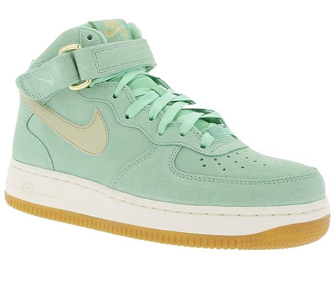 Nike Air Force 1 07 Mid Seasonal W Schuhe türkis einfach