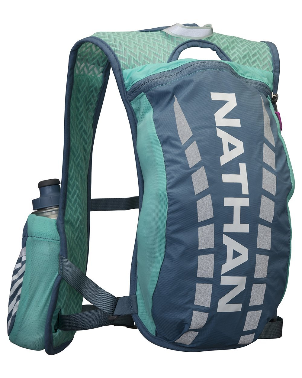 Nathan Fireball Race Vest, Cockatoo, One Size