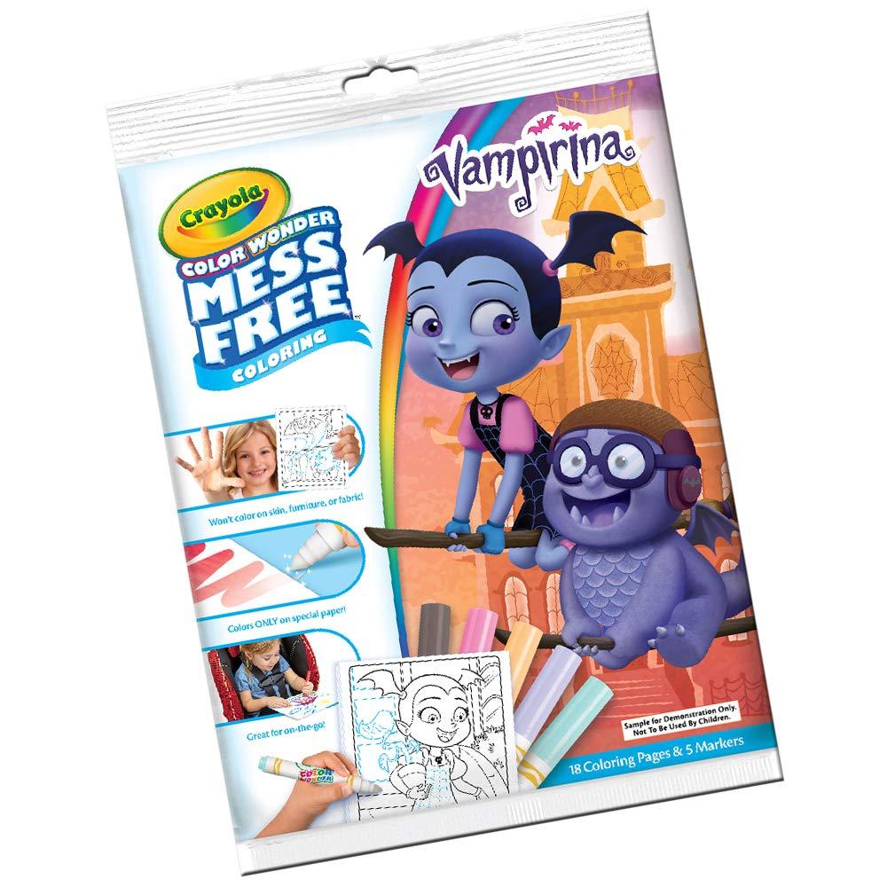 Crayola Disney Vampirina Color Wonder Amazoncouk Toys Games