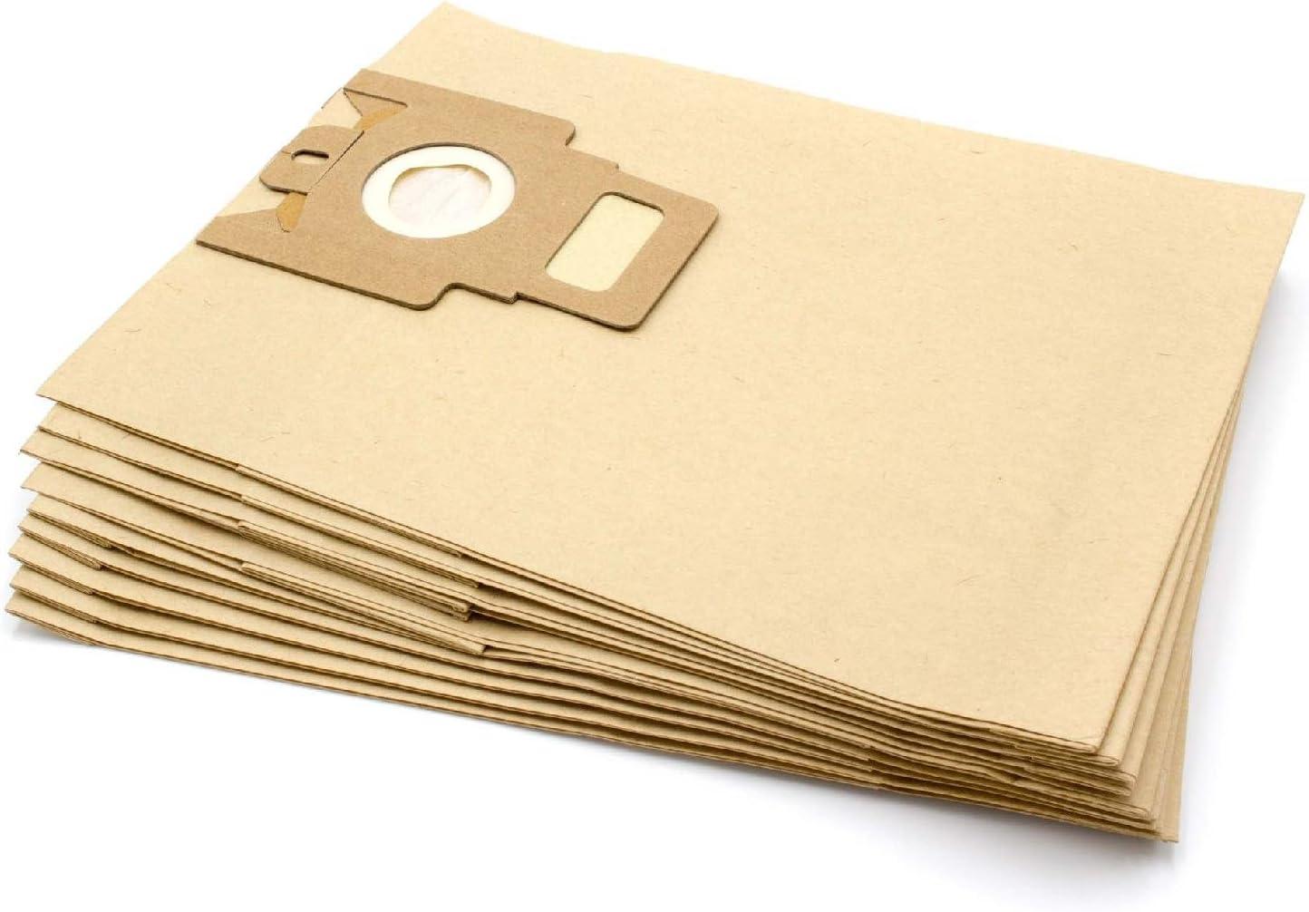 vhbw 10 Bolsas de papel para aspiradoras, limpiador multiusos para Miele Young Style S4 / CH