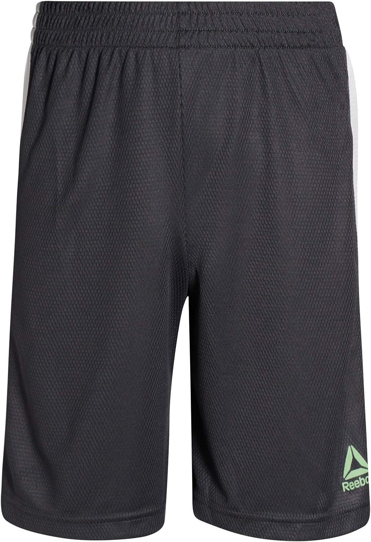 Reebok Boys 3-Piece Athletic Active Sports Tee-Shirt and Short Set
