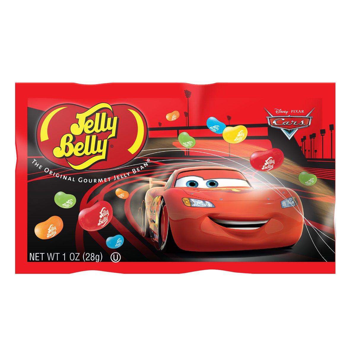 Jelly Belly Disney Pixar Cars Jelly Beans Mix - 1 oz Bag (24 Bags (Full Case))