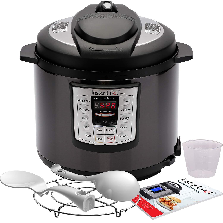 Amazon.com: Instant Pot LUX60 - Olla a presión programable 6 ...