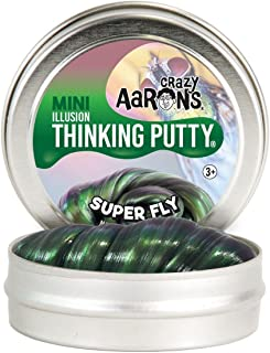 """product image for Crazy Aaron's Thinking Putty Super Fly Super Illusions Putty, Mini 2"""" Tin"""
