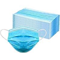 Nuur Wegwerpmasker met elastische oog, 3-laags, eenheidsmaat, voor alle gezichtsmaskers (50 stuks)