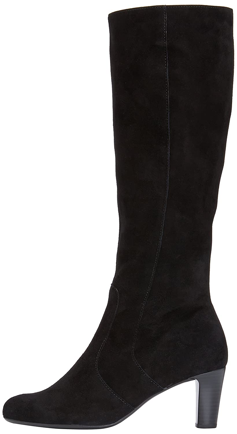 d92dab936ec Gabor Womens Maybe Slim S Boots 95.668.17 Black Suede (Micro) 5 UK (39 EU)   Amazon.co.uk  Shoes   Bags