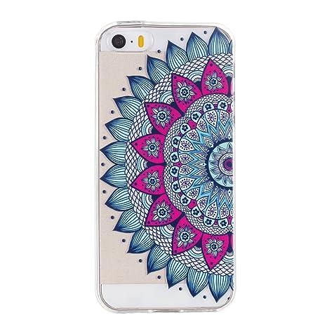 Asnlove Carcasa iPhone 5S Silicona Gel, Funda Silicona TPU ...