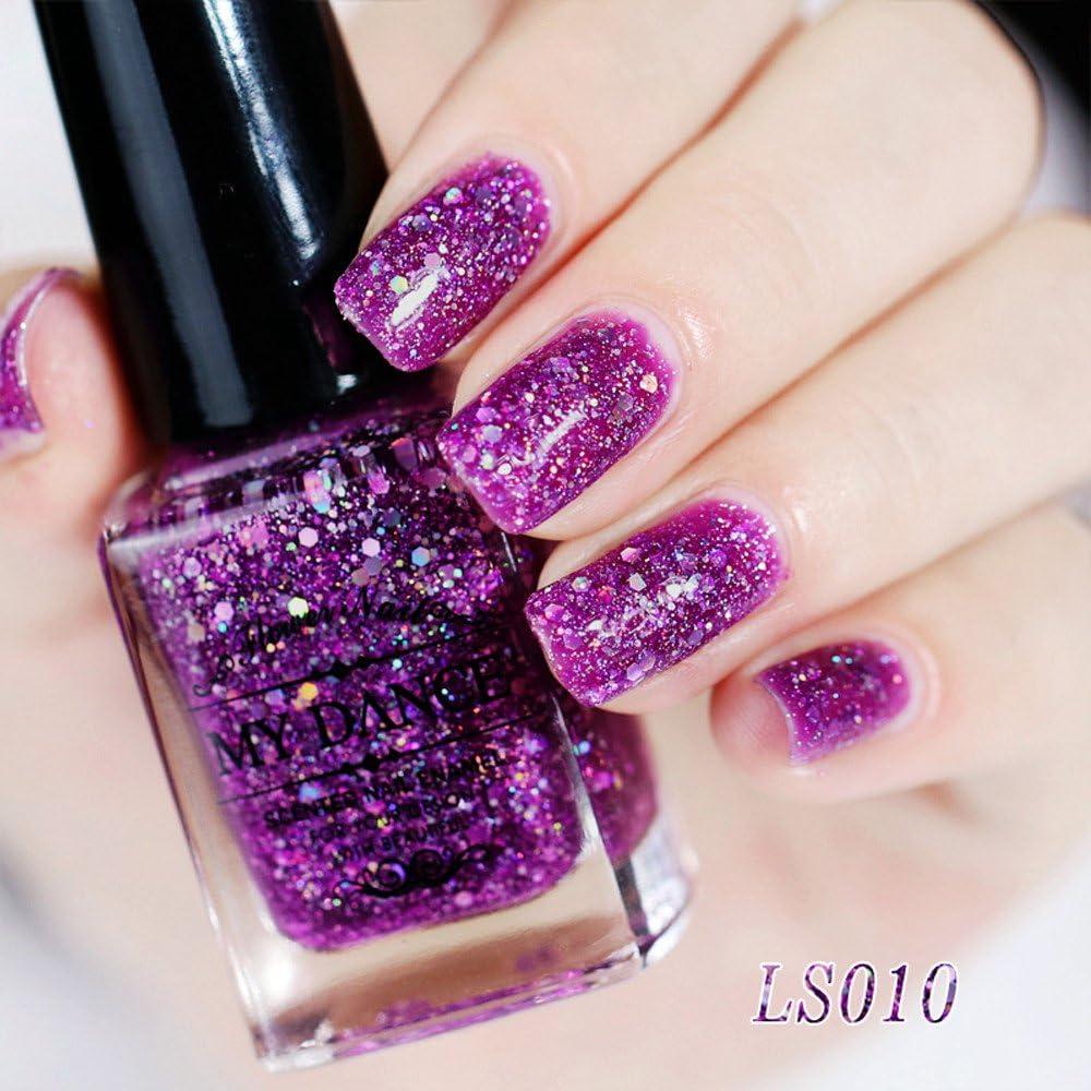6 ML uñas Gel Manicura Diamante Pintauñas Esmalte de uñas ...