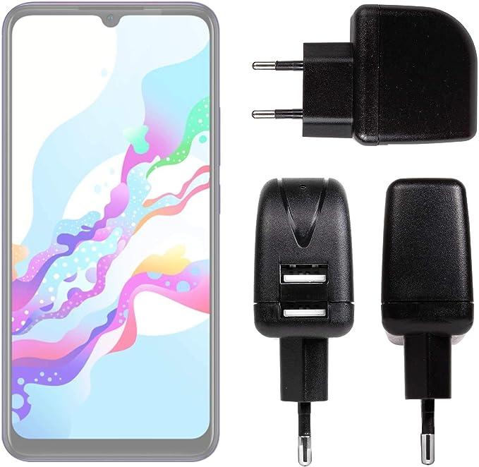 DURAGADGET Cargador con Enchufe Europeo Compatible con Smartphone Vivo Z5, ZTE Nubia Z20: Amazon.es: Electrónica