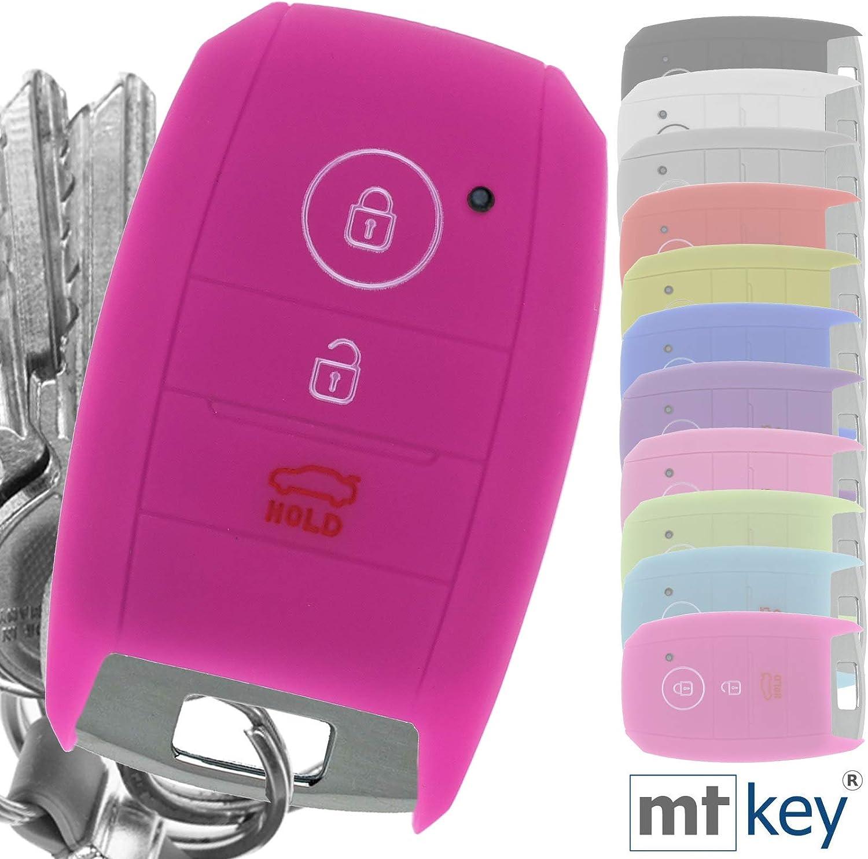Keyless Schlüssel Hülle Pink Kompatibel Mit Kia Elektronik