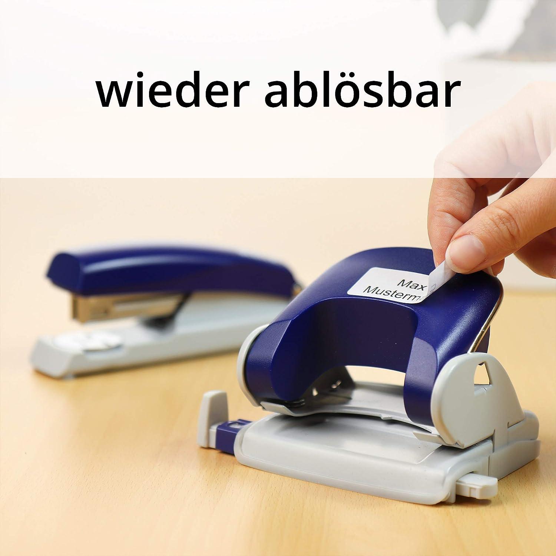 950 Rollenetiketten wieder abl/ösbar Labelident Thermotransfer-Etiketten auf Rolle wei/ß 3 Zoll Rolle f/ür Standard- und Industriedrucker Papier 102 x 152 mm mit Tr/ägerperforation