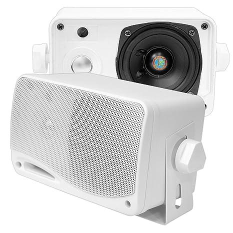 Review 3-Way Weatherproof Outdoor Speaker