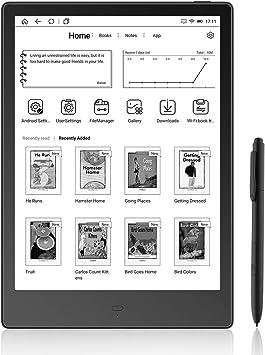 Likebook Alita E-Reader - Negro, Pantalla Táctil de 10,3