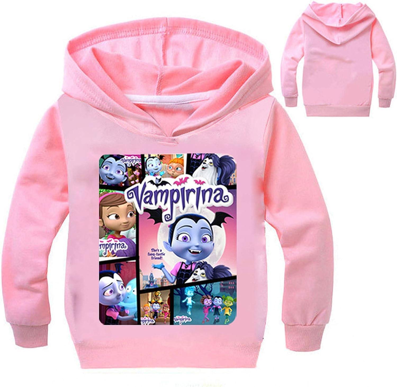 Pnfly Vampirina Childrens Cartoon Printed Hoodie