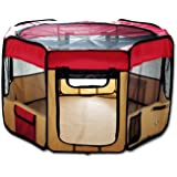 """ESK Collection 48"""" Pet Puppy Dog Playpen Exercise Pen Kennel 600D Oxford Cloth"""