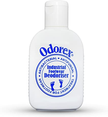 Amazon   臭う足と靴についての事実! オダエックス作業靴用除菌・防菌・消臭パウダー30g   オダエックス   除菌剤