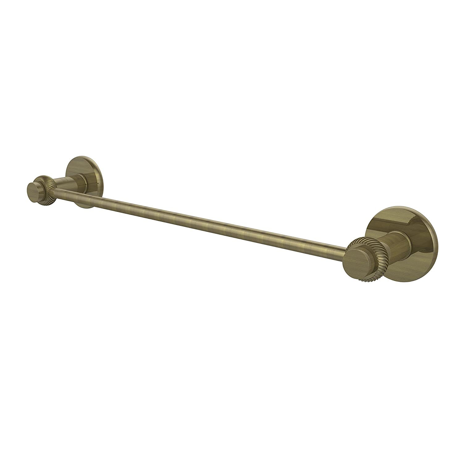 Allied Brass 931T/30-ABR Towel Bar, 30-Inch, Antique Brass by Allied Precision Industries B00Y39UFKY アンティーク真鍮 アンティーク真鍮