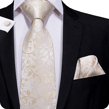 Herrenmode Breite Krawatten Einstecktuch Fliegen Manschettenknöpfe Krawatten Set
