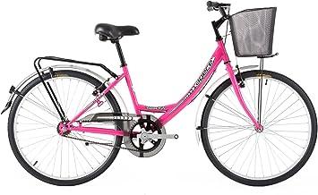 Agece Urban-24 Bicicleta de Paseo, Niñas, Rosa, XS: Amazon.es ...