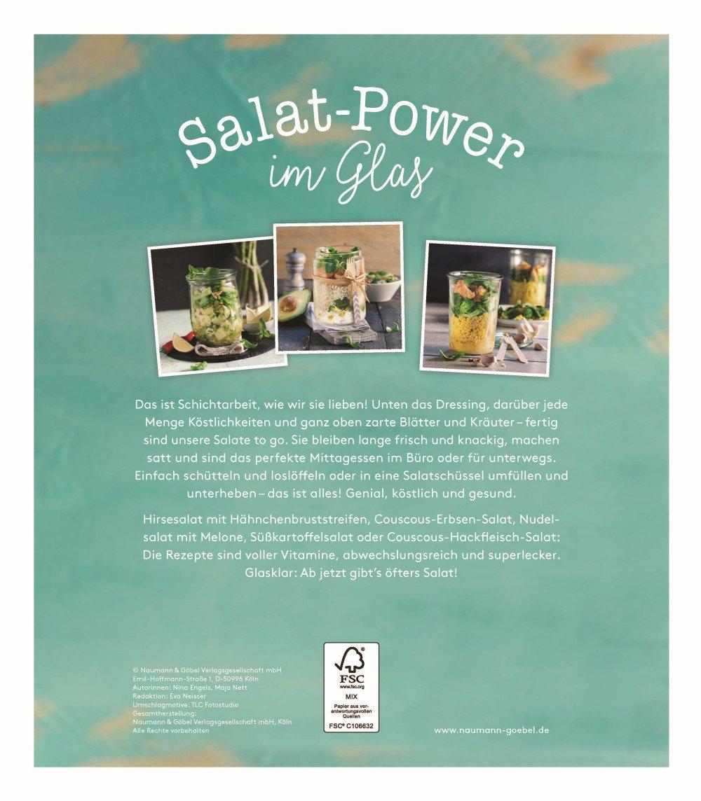 salat power im glas fit food statt fast food 45 rezepte furs buro und unterwegs