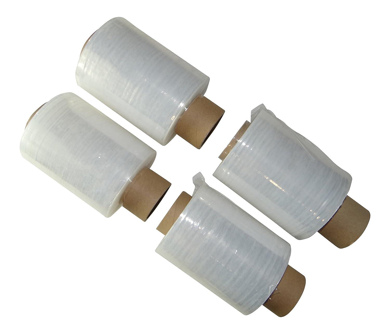 MultiBros, confezione da 4 pellicole trasparenti, 23 m, 100 mm x 150 m