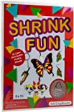Dabit Shrink fun Paper 20-Pack, Shrink Sheets For Boys And Girls, Clear Shrink Film Sheets, Kids Activities For All Ages…