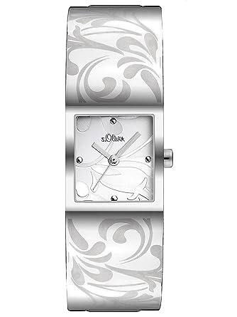 S oliver damen armbanduhr so 1952 mq