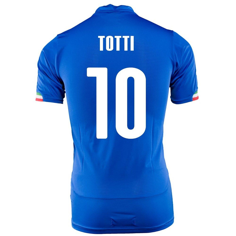 Puma Totti #10 Italy Home Jersey World Cup 2014 -Youth/サッカーユニフォーム イタリア ホーム用 トッティ 背番号10 ワールドカップ2014 ジュニア向け B019HT2XGS Y-X-Large, 札幌スポーツ館 0ee44f39