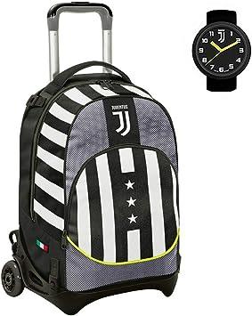 Juventus Trolley Schule Seven Jack Winner Forever abnehmbar mit offizieller Uhr