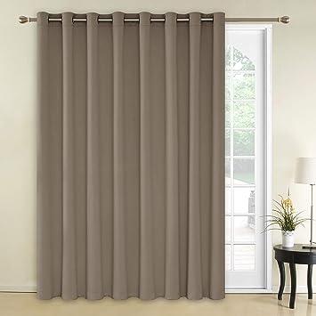 Amazon Com Deconovo Decorative Wide Width Curtain Room Divider
