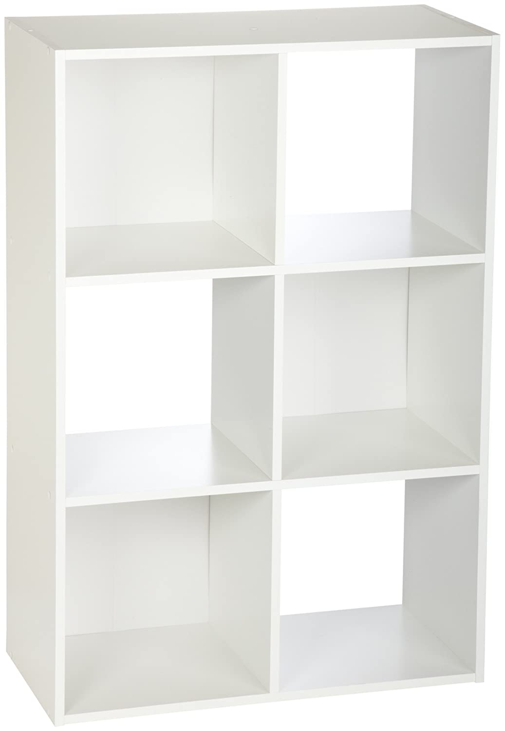 Amazon.com: ClosetMaid 8996 Cubeicals Organizer, 6-Cube, White: Home ...