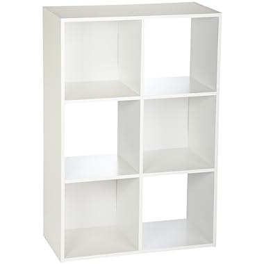ClosetMaid 8996 Cubeicals Organizer, 6-Cube, White