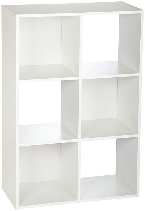 ClosetMaid (8996) Cubeicals Organizer, 6 Cube   White