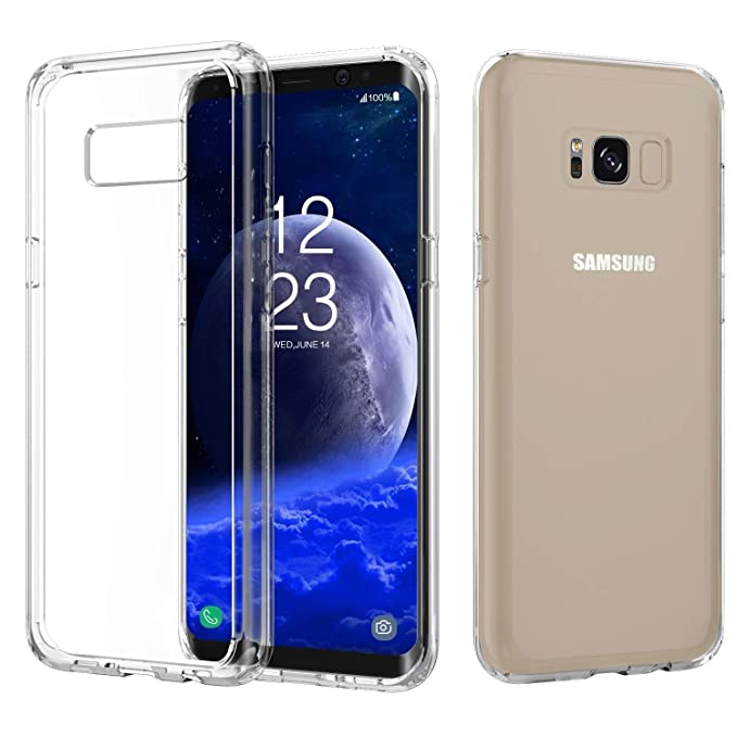 Vkaiy Funda para Galaxy S8 Plus Transparente Silicona Suave TPU Gel Ultra Fina y Anti-Ara/ñazos Case Cover Cascara Protectora Funda Para Galaxy S8 Plus Protecci/ón a Bordes y C/ámara