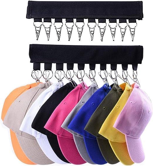 Ganchos organizadores de ropa y sombreros de viaje Chictie con 20 ...