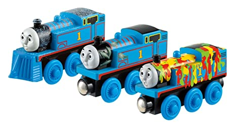 Fisher Price Thomas Friends Wooden Railway Adventures Of Thomas