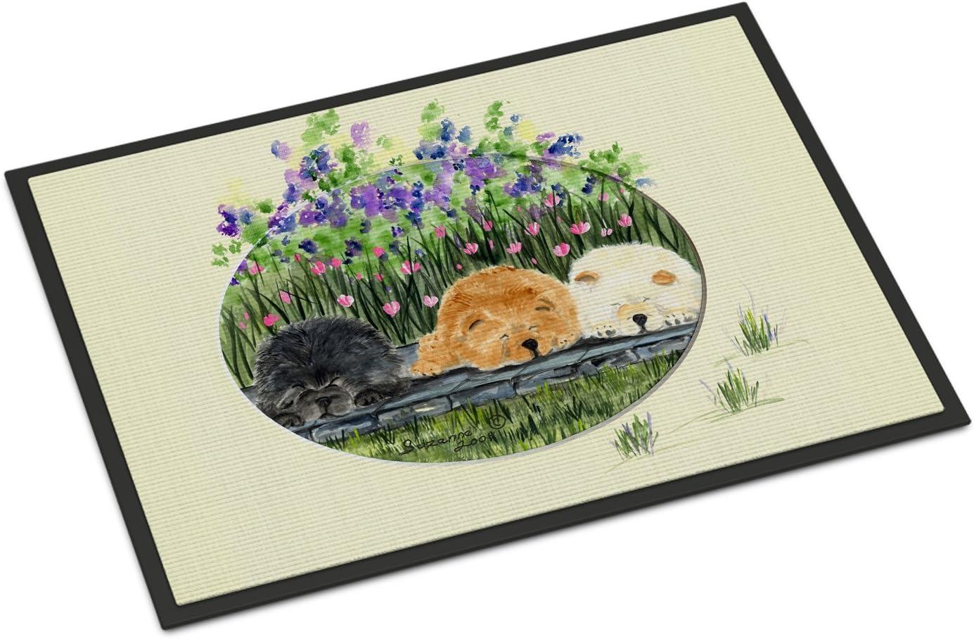 Caroline s Treasures SS8050MAT Chow Chow Indoor Outdoor Mat 18×27 Doormat, 18H X 27W, Multicolor