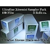 Ultrafine Extreme Xtremist Sampler B&W 120 Film ISO 100 & 400 Sample 6 Roll Pack