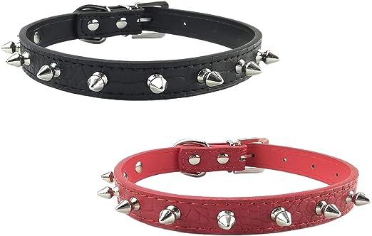 Newtensina 2 Piezas Conjunto de Collar de Perro Cool Collar de ...