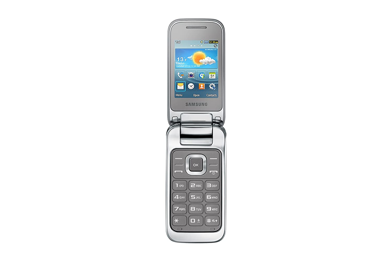 Samsung e1270 black price in india buy samsung e1270 black online on - Samsung C3590 2 4 99 76g Silver Mobile Phones Amazon Co Uk Electronics