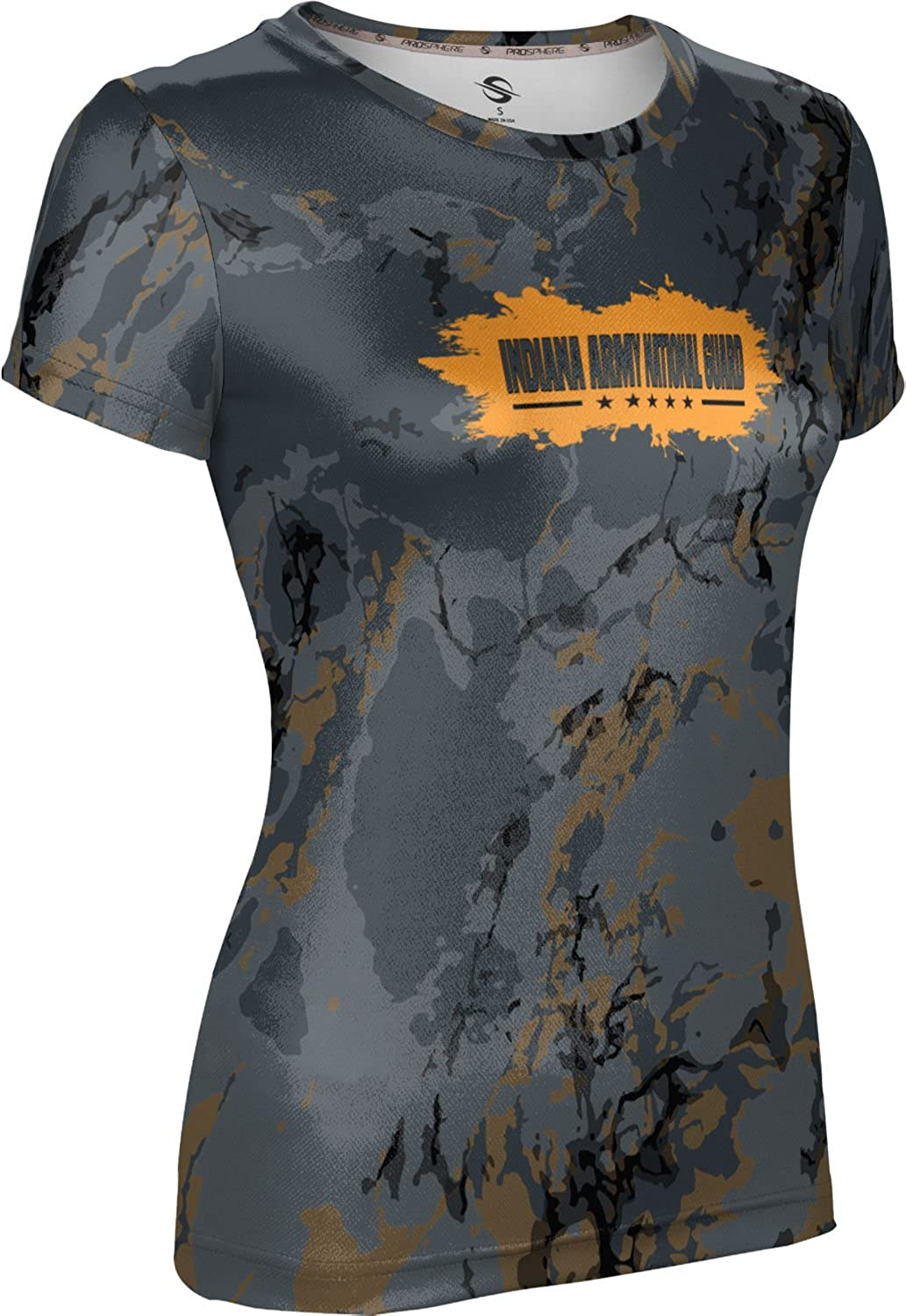 ProSphere Women's Indiana Army National Guard Military Marble Tech Tee