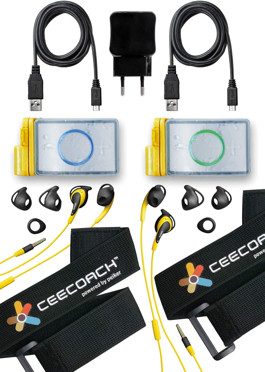 Ceecoach Uni Duo Kit Xtreme Silver One Size Elektronik