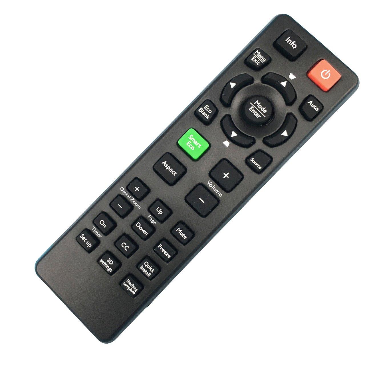 5J.J9V06.001 Remote Control for BenQ Projector Benq MS524 MW526 HC1200 MX525 SH915 MX722 SX912 SX914 MX711 MX812ST MX810ST MX760 MX761 Projectors ect. by HONONJO