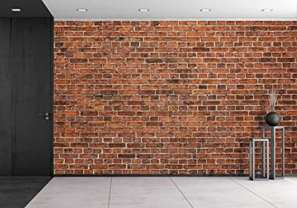 wall26 grunge red brick wall background with copy space