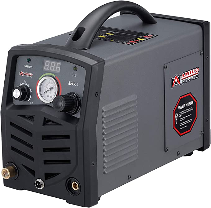 115V /& 230V Dual Voltage Cutting Machine 3//4 inch Clean Cut Amico 50 Amp Non-touch Pilot Arc Air Plasma Cutter APC-50HF